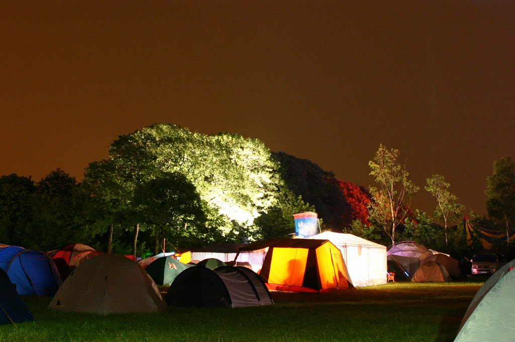 Tents @ What The Hack
